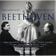 Pierre-laurent Aimard & Nikolaus Harnoncourt / エマール&アーノンクール「Beethoven: Triple Concerto, Choral Fantasy & Rondo / ベートーヴェン:三重協奏曲 他」