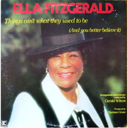 Ella Fitzgerald / エラ・フィッツジェラルド「THINGS AIN'T WHAT THEY USED TO BE(AND YOU BETTER BELIEVE IT) / ヴァーサタイル・エラ」