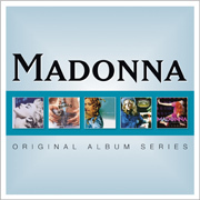 Madonna / マドンナ「5CD ORIGINAL ALBUM SERIES BOX SET 【輸入盤 5CD SET】」