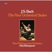 Otto Klemperer / オットー・クレンペラー「J.S.Bach:The Four Orchestral Suites / バッハ:管弦楽組曲(全4曲)【SACDハイブリッド】」