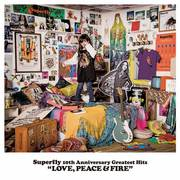 Superfly「Superfly 10th Anniversary Greatest Hits『LOVE, PEACE & FIRE』(初回限定盤)」