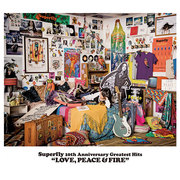 Superfly「Superfly 10th Anniversary Greatest Hits『LOVE, PEACE & FIRE』(通常盤)」