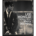 "「LEE HONG GI 1st Solo Concert ""Merry 302 MHz""(Blu-ray)」"