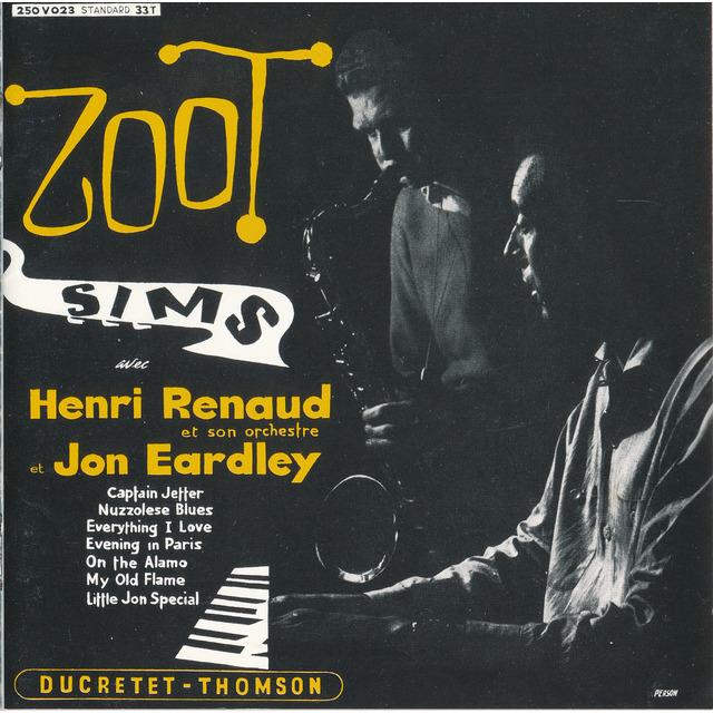 Zoot Sims Avec Henri Renaud Et Son Orchestre Et Jon Eardley ºート ·ムズ ªン Çュクレテ Èムソン Shm Cd Warner Music Japan