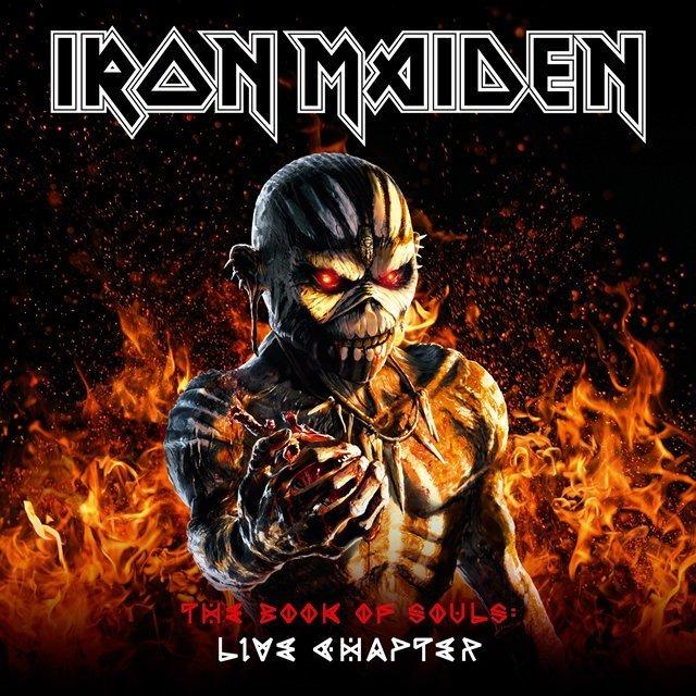 iron maiden アイアン メイデン the book of souls live warner