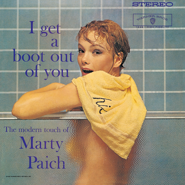 marty paich マーティ ペイチ i get a boot out of you warner