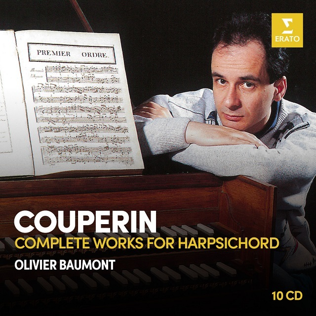 0190295634551 couperin complete works for harpsichord   olivier baumont cover