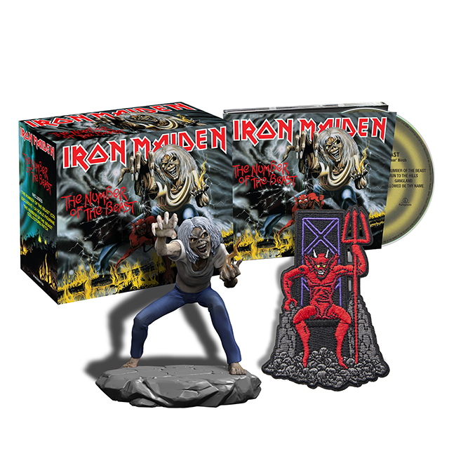iron maiden アイアン メイデン the number of the beast warner