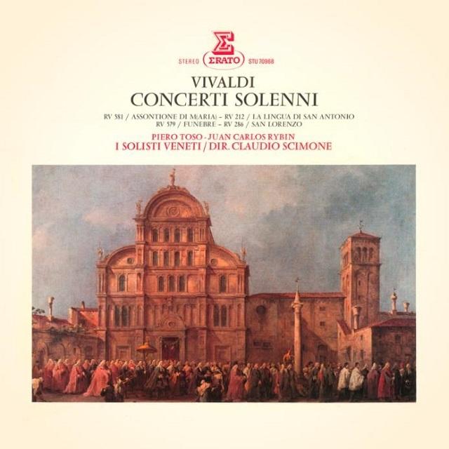 Vivaldi: Concerti solenni, RV 212, 286, 556, 579 & 581 ...