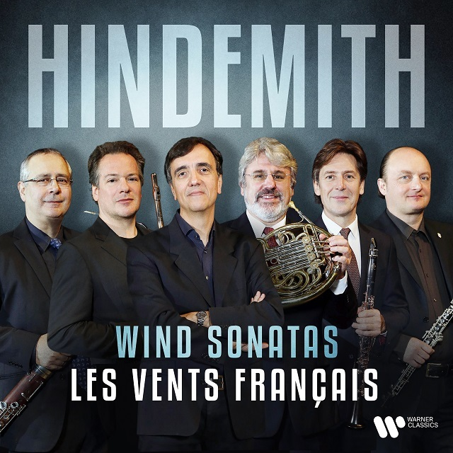 0190295044411 les vents franccais hindemith cd cover