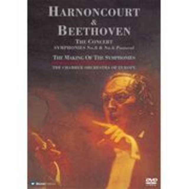 HARNONCOURT & BEETHOVEN SYMPHONIES No.8 & No.6 Pastoral / ベートーヴェン 交響曲第8番 交響曲第6番「田園」